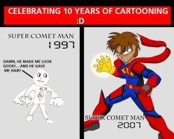 Then and Now,a 10 year tribute by shiro522