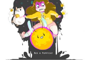 Bee-&-Puppycat by YourPersonalMenace