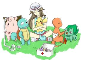 100 Theme: Pokemon Heal by x-Charis-x
