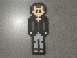 Perler Bead 9th Doctor by SuperMrHolmes