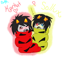 KarKat and Sollux by BloodyMisery15