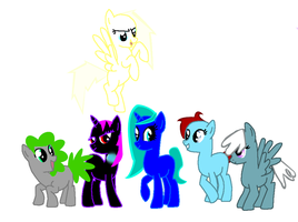 MLP adopts (:D) OPEN by Honey-PawStep