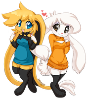 Long Socks n Sleeves by Ambunny
