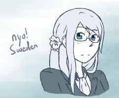 Nyo!Sweden by BlueFlamesOfSatan