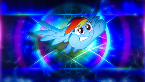 Rainbow Dash'S Rainboom | Wallpaper (1080p) by mtgman96
