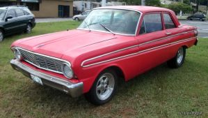 64' red Ford Falcon Futura by Mister-Lou
