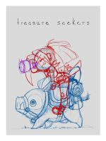 Treasure Seekers - WIP by JuneRoseXX
