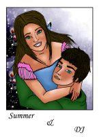 SummerAndDJ by CharismasXe