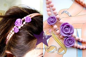 Roses_Hair_Band by missbeautifool