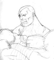 Sagat by falserockman