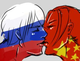 Russia x China 3 by g-rape