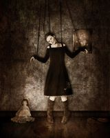Placed in chains by blumilein