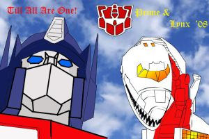 Prime for President '08 by Klunker-Decepticon
