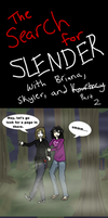 The Search for Slender part 2 by nightmare43yume