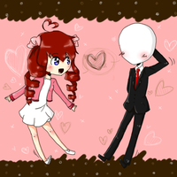-Art Trade? XD- OnixSlenderman by Tobi947