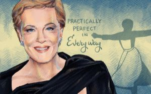 Julie Andrews by concentriccookies