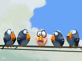 pixar's for the birds 'fail' by mattersmost