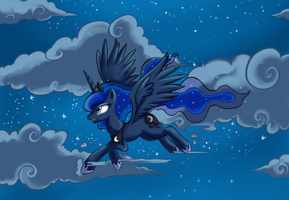 Luna Princess Of The Night Smaller by Noxavous