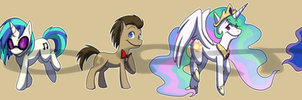 Stickers: My Little Pony: Friendship is Magic Set2 by forte-girl7