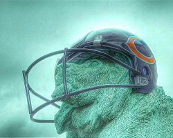 Chicago Bears Lion by spudart