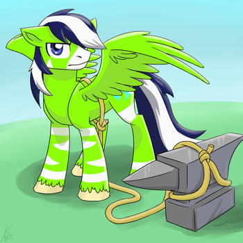 MLP: Crashie and Anvil by NothingSpecialx9