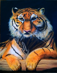 Tiger Painting I by NightmareInspections