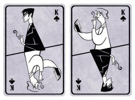 Good Omens Card by Grrrenadine