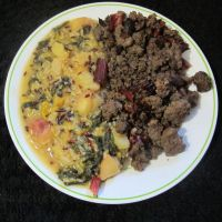 Bison and Duck with Yellow Plum Rice 4 by Windthin