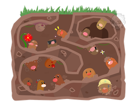 Can ya Diglett - group. by SteveKdA