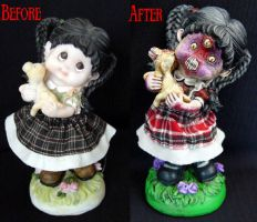 Dorthy and Toto Comparison by Undead-Art