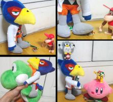 New Falco plush play -1- by togepi1125
