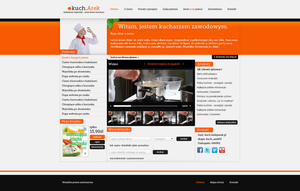 Cook website by Lukezz