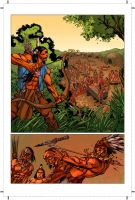 Turok Tryout Pg. 1 by michael-e-wiggam