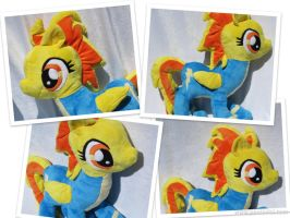Spitfire Plush Collage by munchforlunch