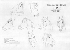 Rose - Close up Model sheet by Wild-Hearts