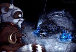 Shifu vs. Tai Lung - KFP by KetsukiKyuu