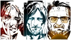 Death Stranding Cast by l4dplayer