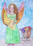 angel of providing by ingeline-art