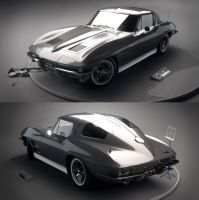 Chevrolet Corvette Sting Ray 1963 by 7y8i