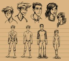 Character Sketchings by neverland23