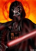 The Force of Vader by Ginadera