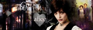 Alice Cullen Bookmark by masochisticlove