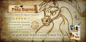 Great Read for Kids: The Pony Express by AN-ChristianComics