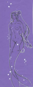 Sirene violette by mcirnelle