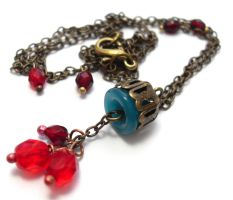 Caravan Necklace by sojourncuriosities