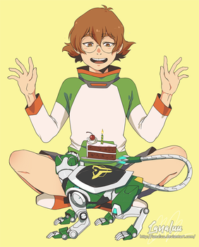 Pidge Birthday by Lanaluu