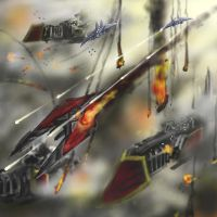 Aerial Combat by Creator3000