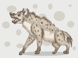 Spotted Hyena by Kaaziel
