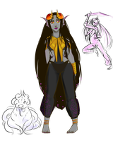 Fantroll Profile: Phiaro Bascra by TigeyTheMighty