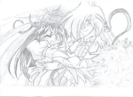 Lina and Gourry Marriage by Reika2
